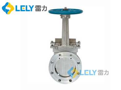 阀门生产厂家雷力解析PZ73电动浆液闸阀